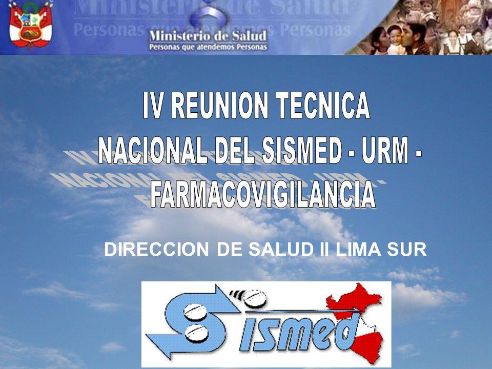 NACIONAL DEL SISMED - URM -
