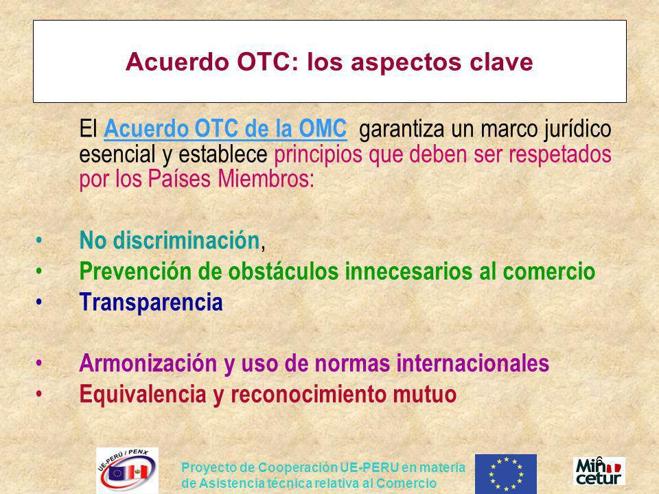 Acuerdo OTC: los aspectos clave