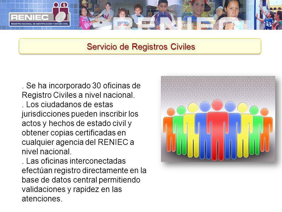 Servicio de Registros Civiles
