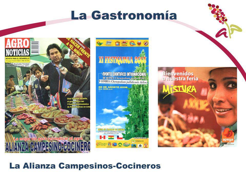 La Gastronomía La Alianza Campesinos-Cocineros