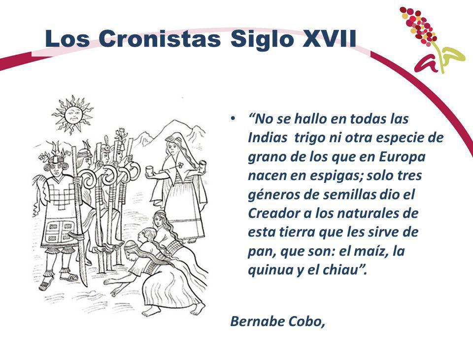 Los Cronistas Siglo XVII