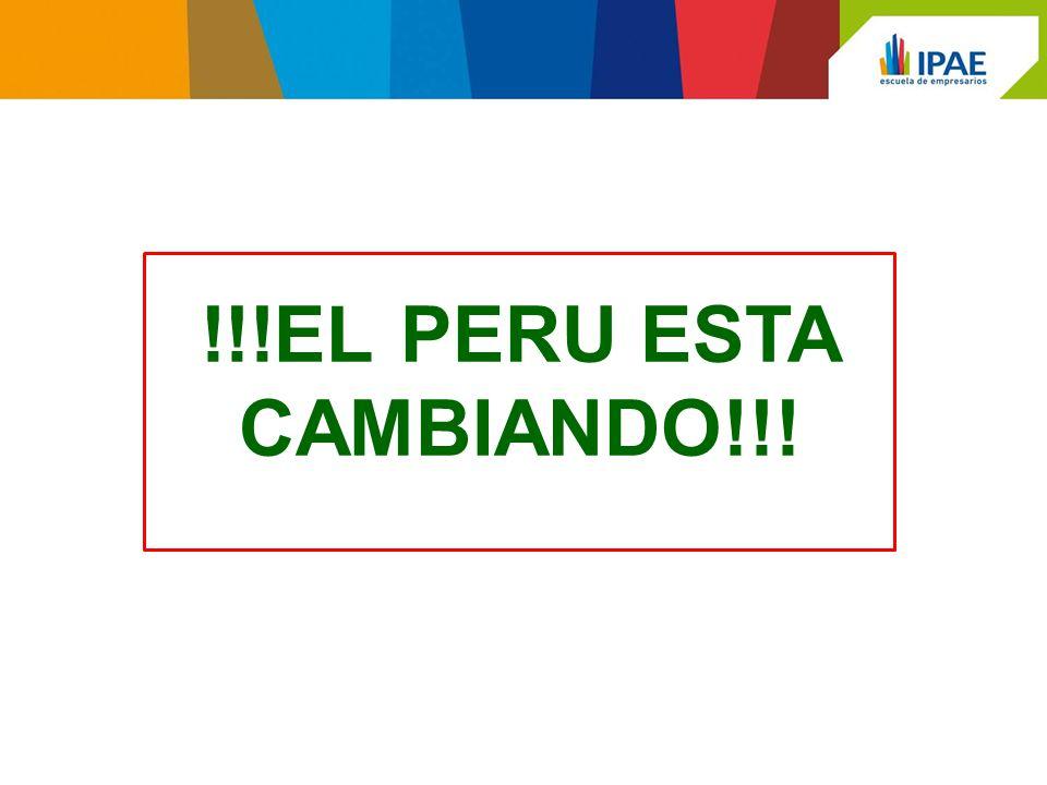 !!!EL PERU ESTA CAMBIANDO!!!