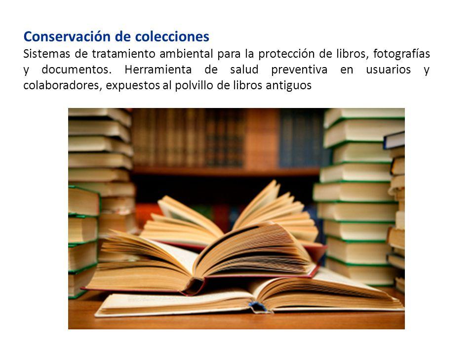 Conservación de colecciones
