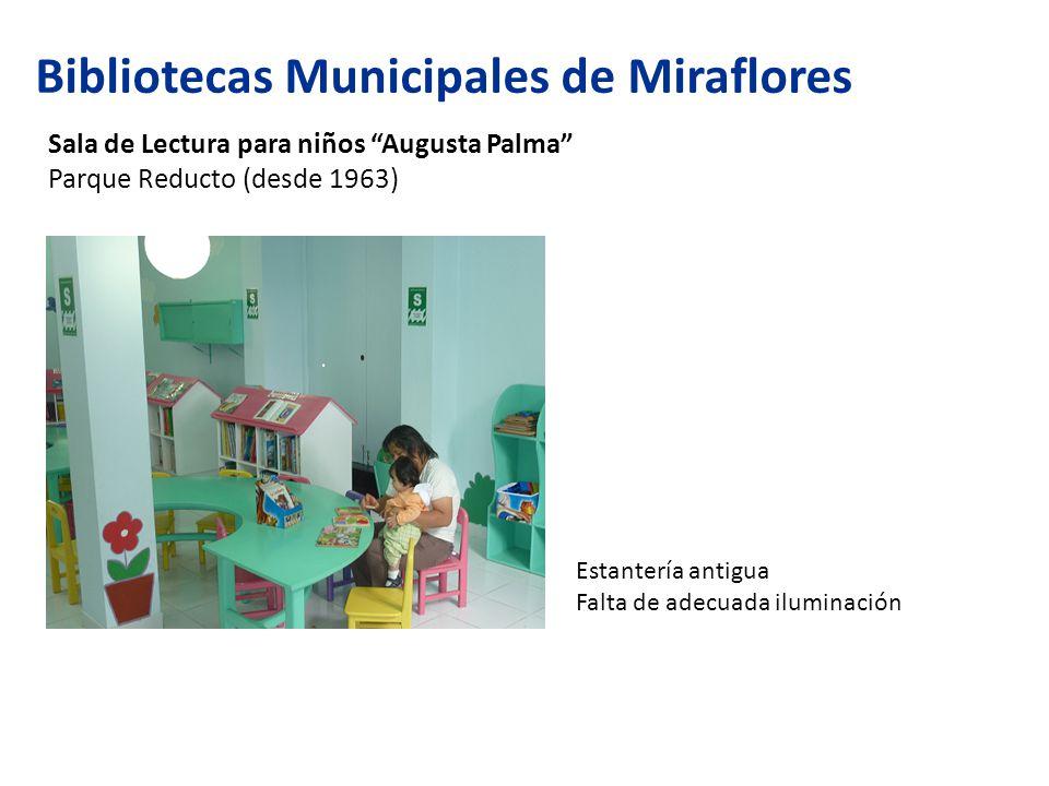 Bibliotecas Municipales de Miraflores