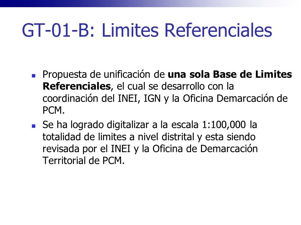 GT-01-B: Limites Referenciales