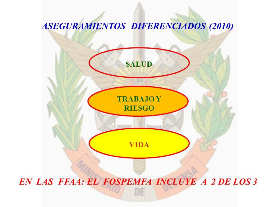 ASEGURAMIENTOS DIFERENCIADOS (2010)