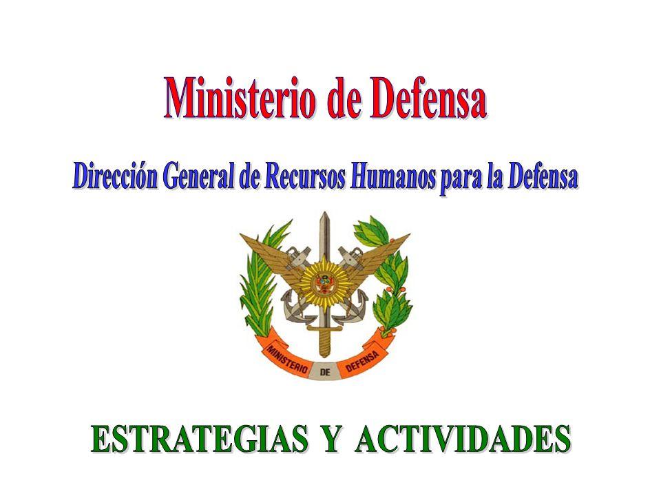 Ministerio de Defensa Dirección General de Recursos Humanos para la Defensa.