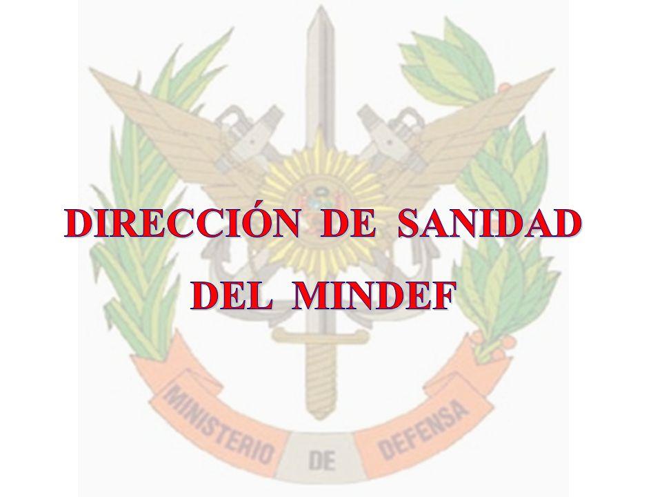 DIRECCIÓN DE SANIDAD DEL MINDEF