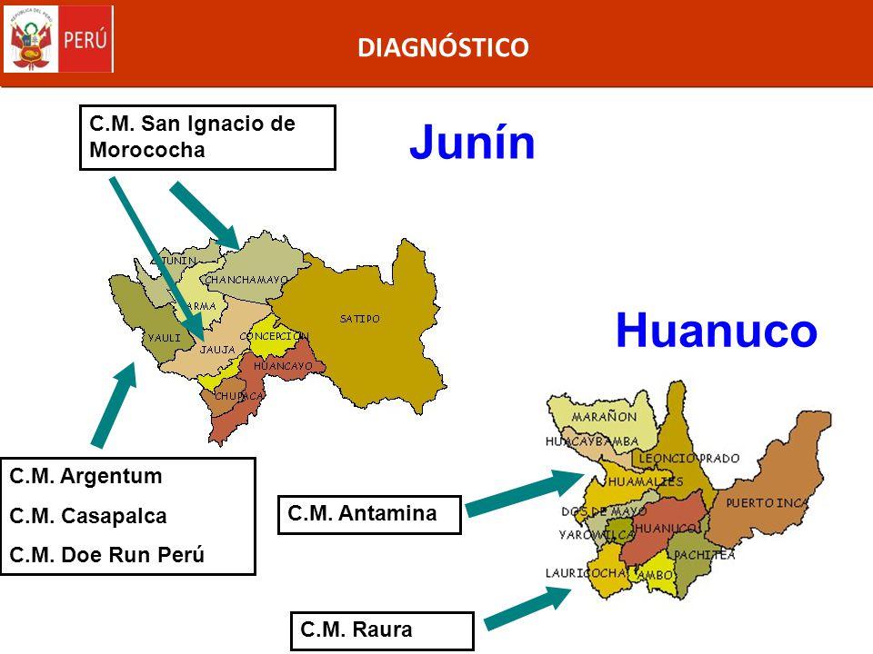 Junín Huanuco DIAGNÓSTICO C.M. San Ignacio de Morococha C.M. Argentum