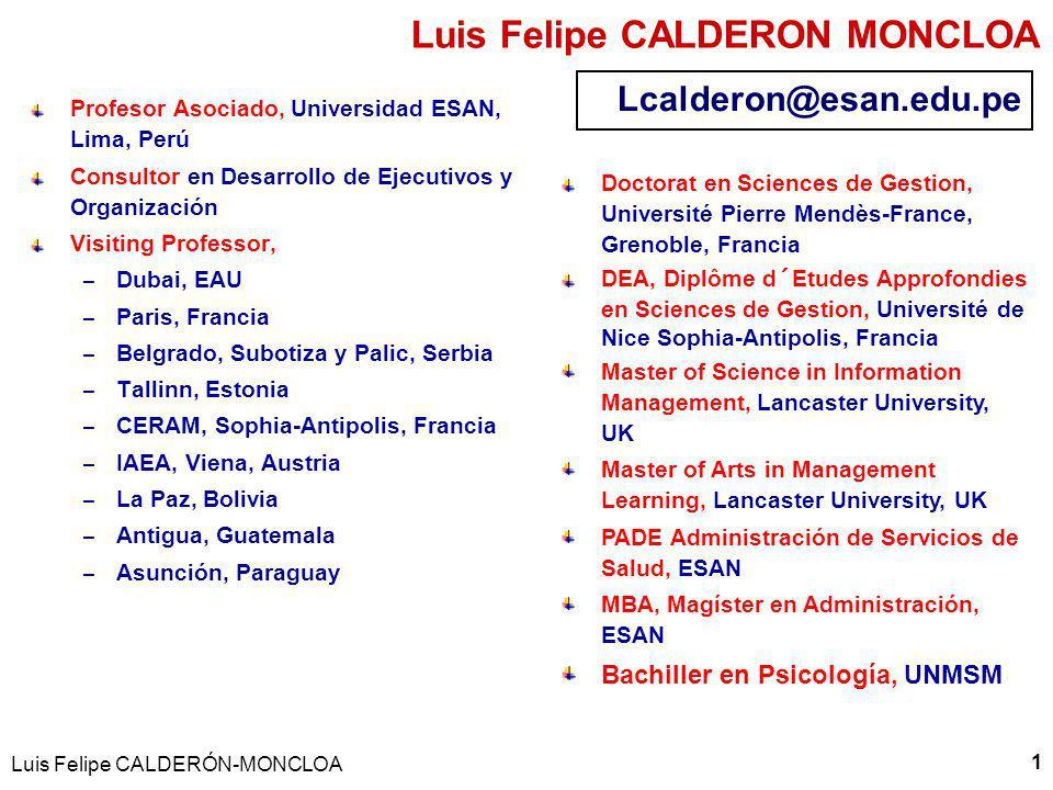 Luis Felipe CALDERON MONCLOA