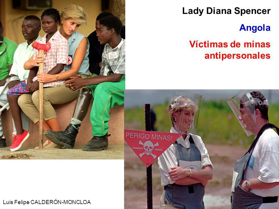 Víctimas de minas antipersonales