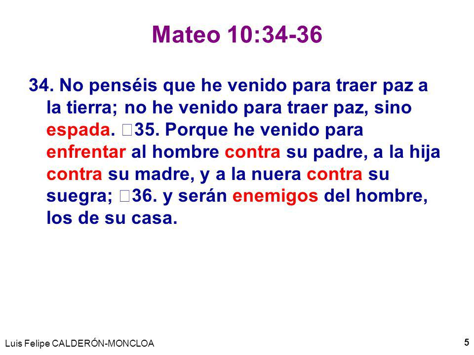 Mateo 10:34-36