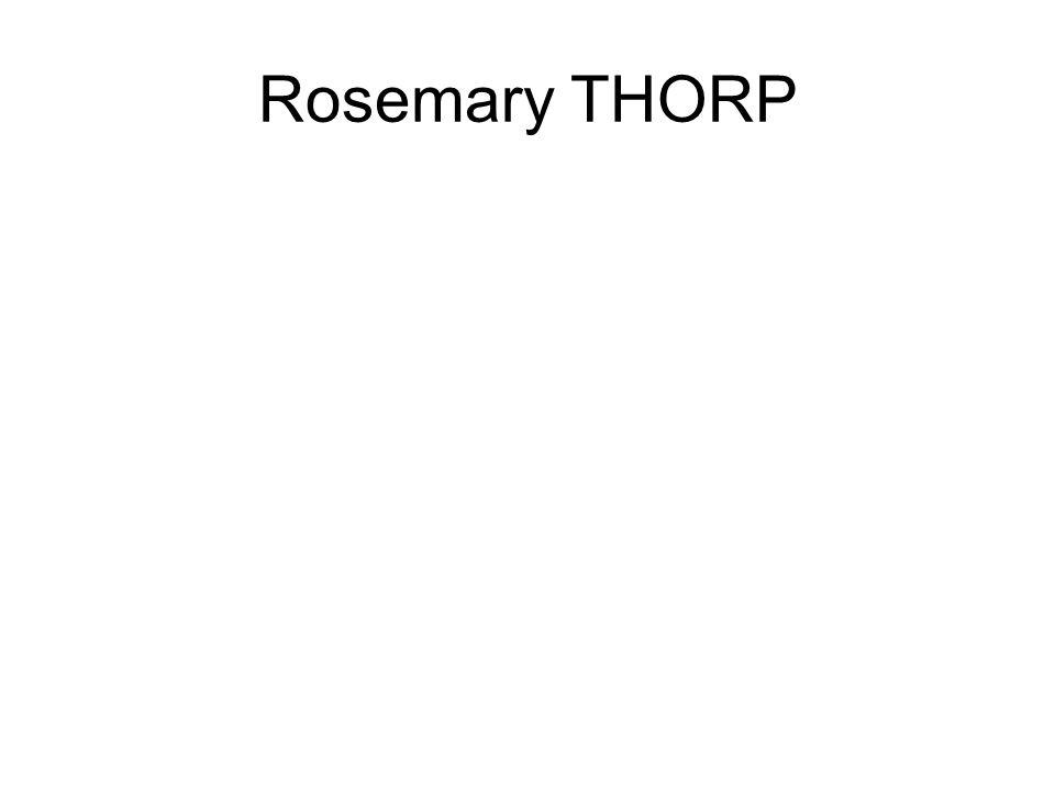 Rosemary THORP