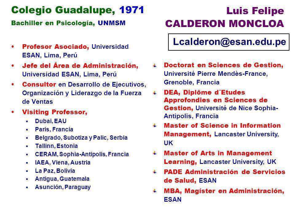 Luis Felipe Colegio Guadalupe, 1971 CALDERON MONCLOA