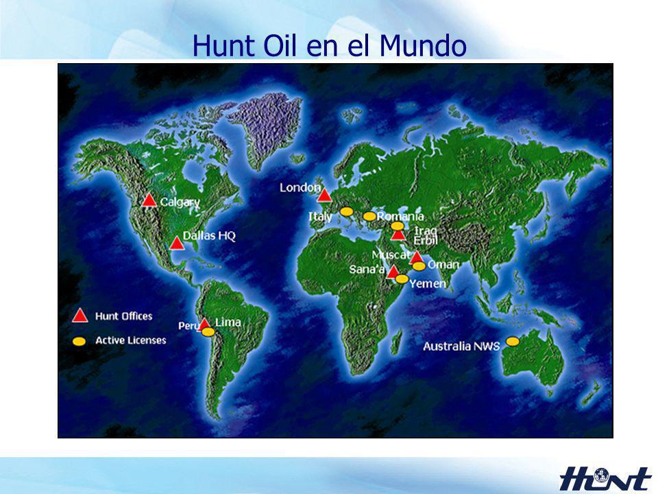 Hunt Oil en el Mundo