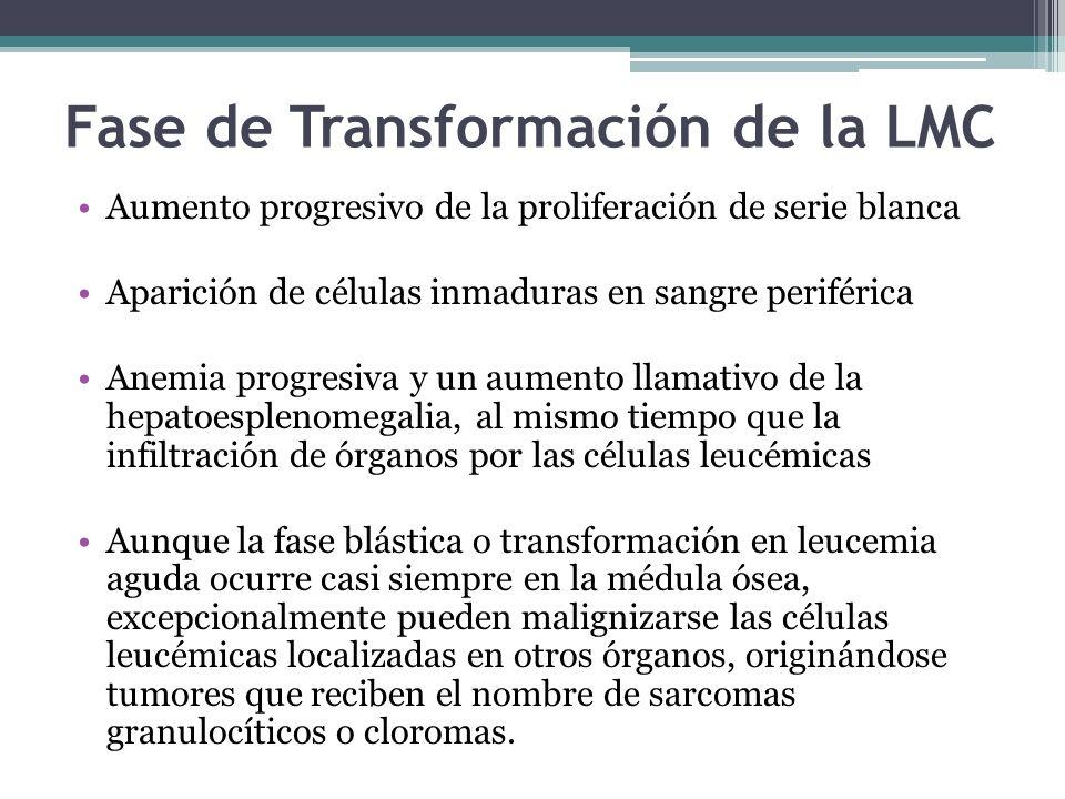 Fase de Transformación de la LMC