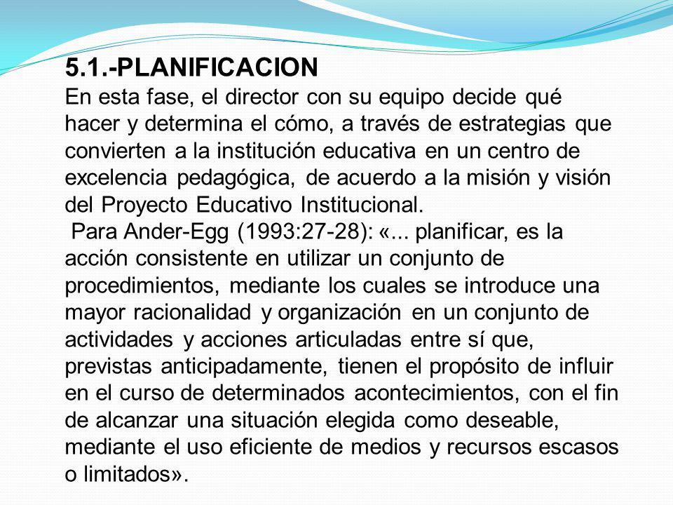 5.1.-PLANIFICACION
