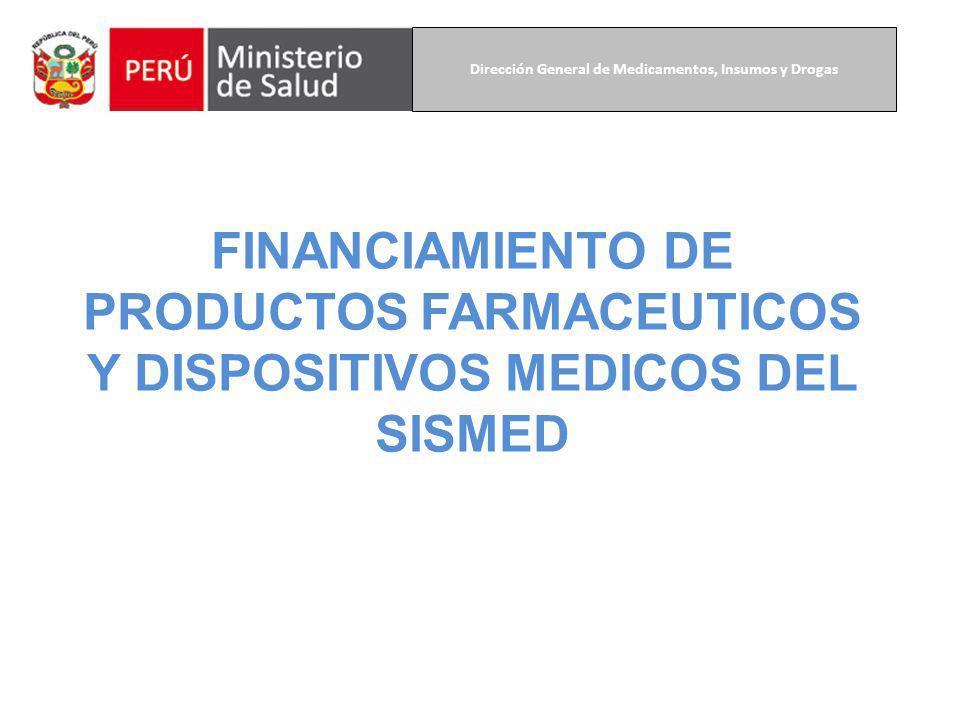Dirección General de Medicamentos, Insumos y Drogas