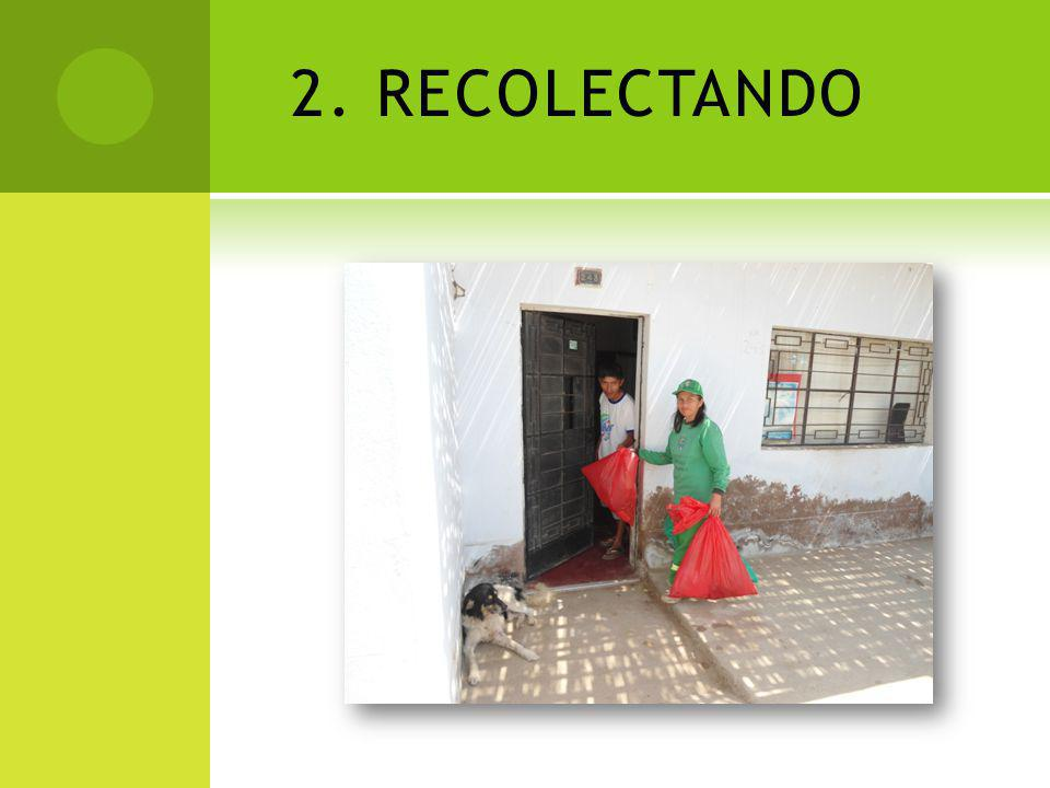 2. RECOLECTANDO