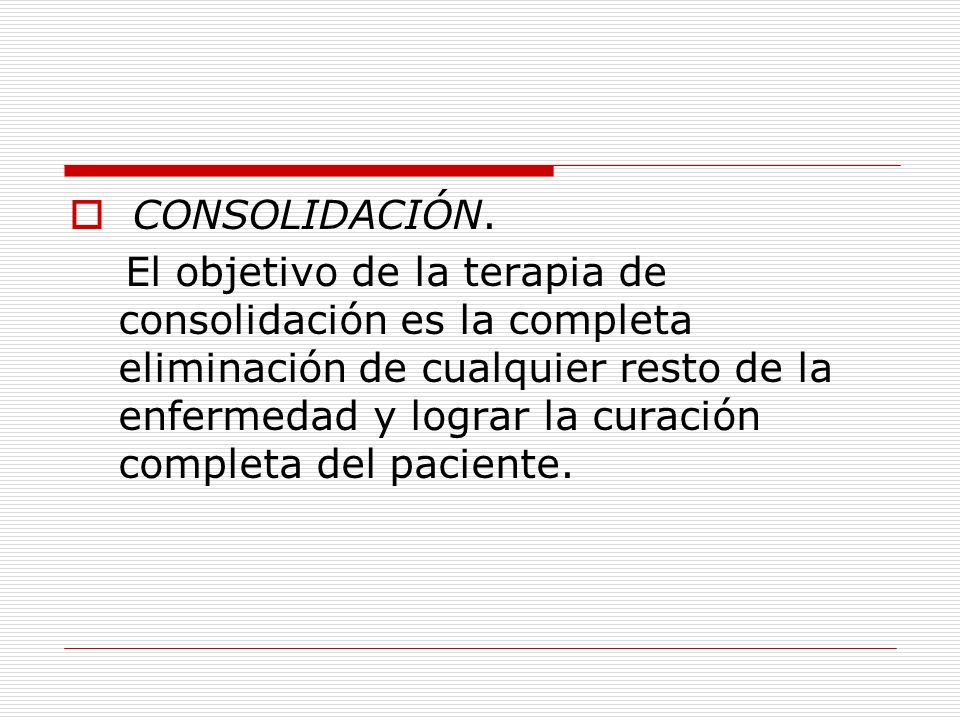 CONSOLIDACIÓN.
