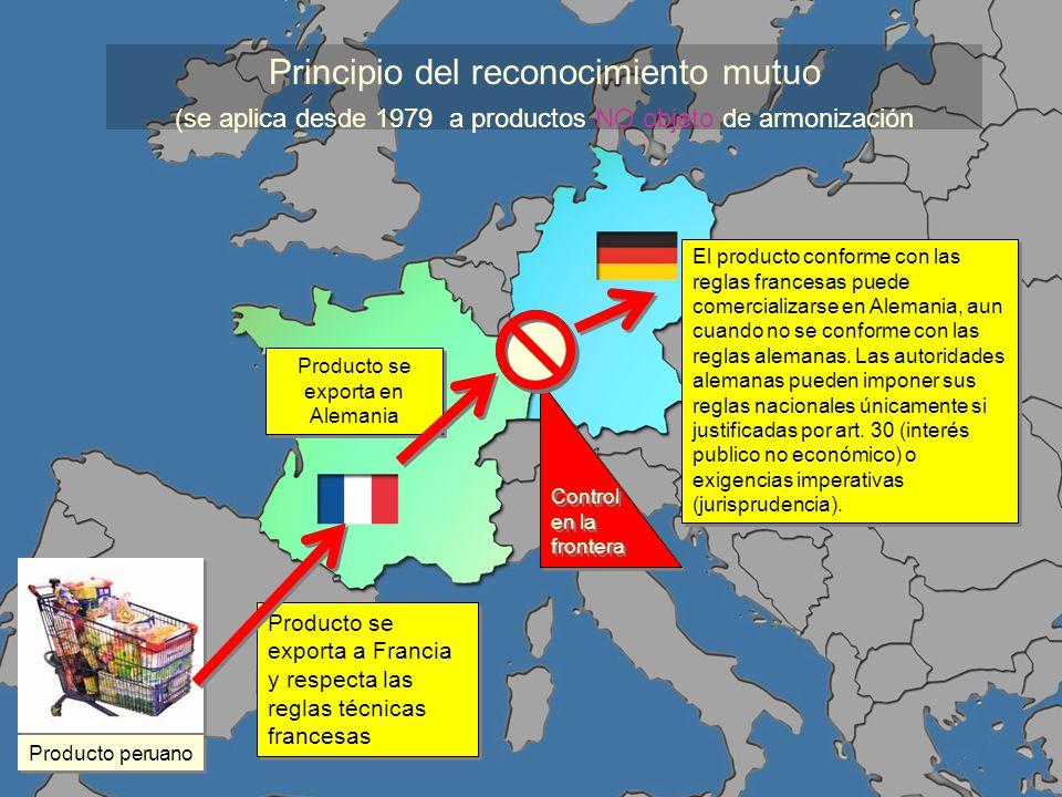 Producto se exporta en Alemania