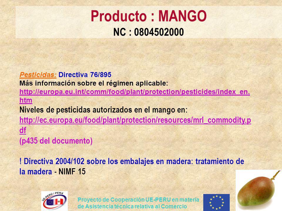 Producto : MANGO NC : 0804502000