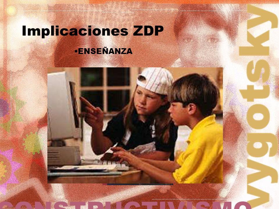 Implicaciones ZDP ENSEÑANZA