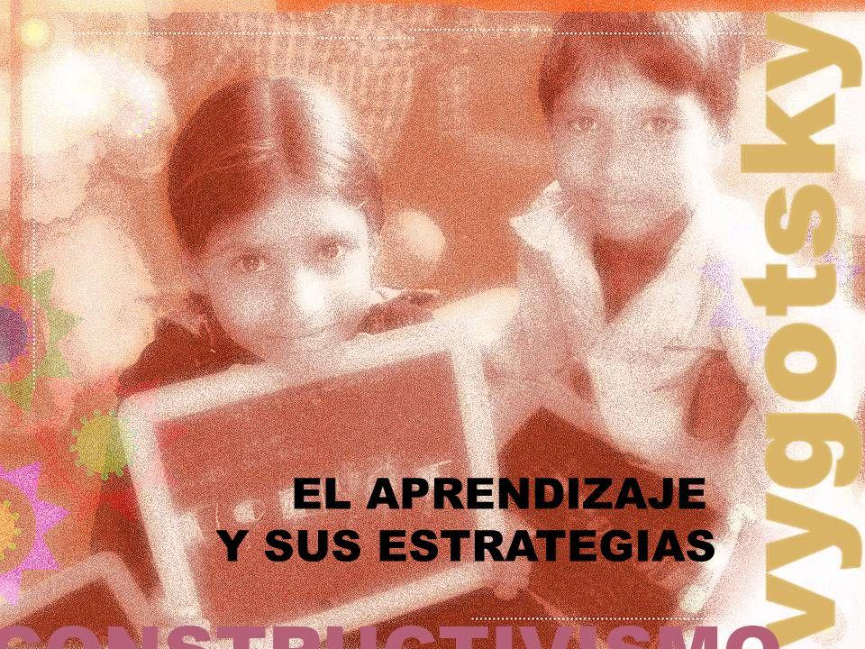 EL APRENDIZAJE Y SUS ESTRATEGIAS