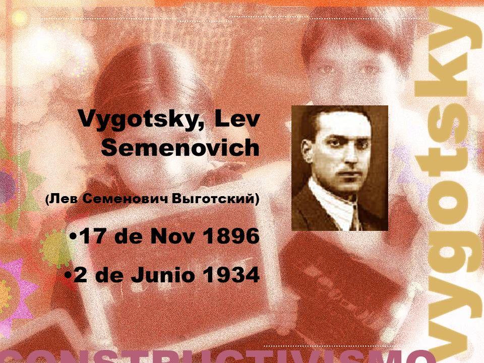Vygotsky, Lev Semenovich