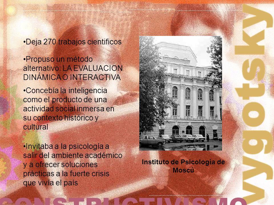 Instituto de Psicología de Moscú