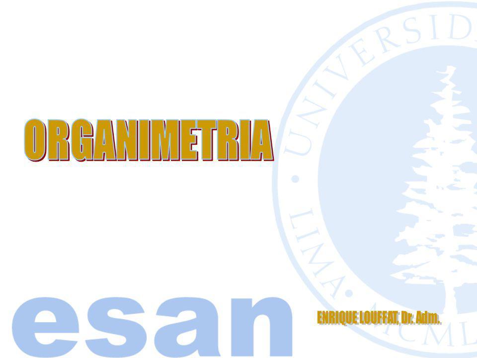 ORGANIMETRIA ENRIQUE LOUFFAT, Dr. Adm.