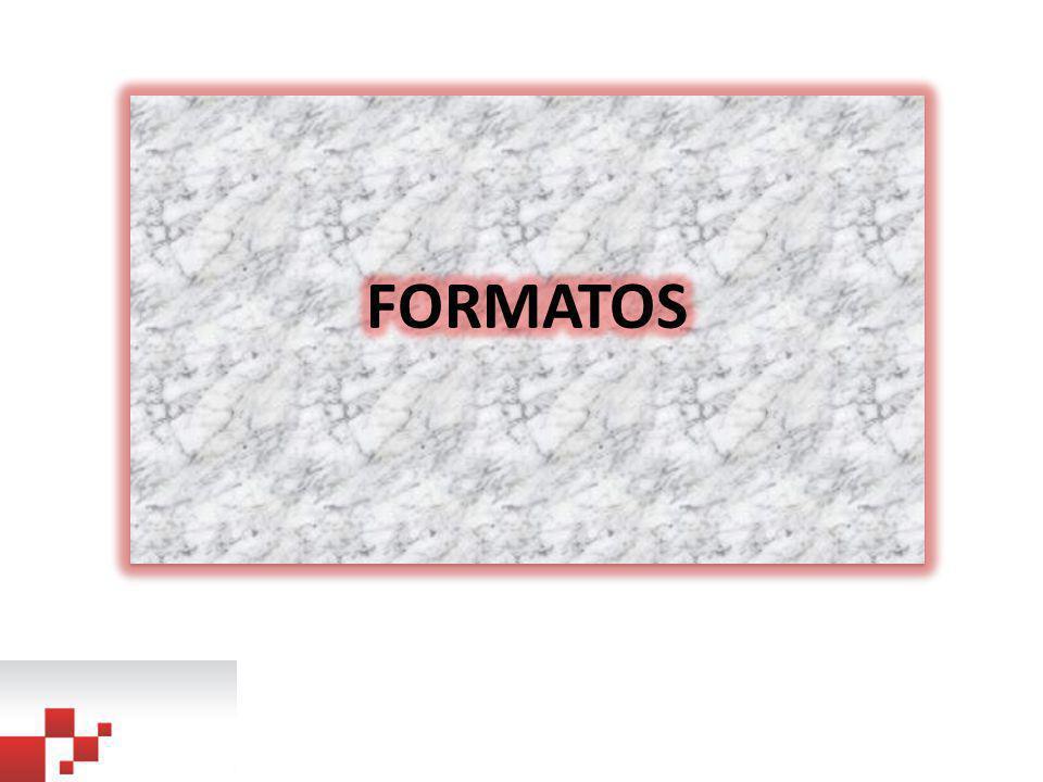 FORMATOS