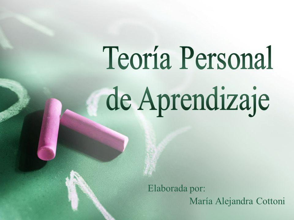 Elaborada por: María Alejandra Cottoni