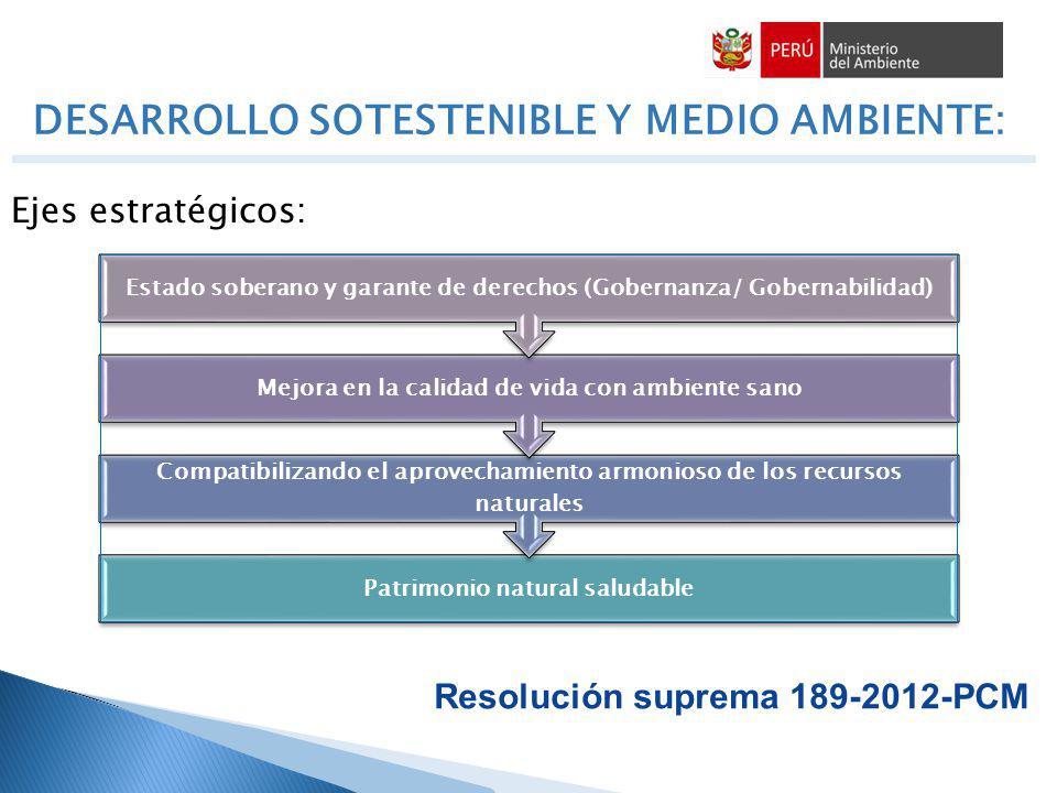 DESARROLLO SOTESTENIBLE Y MEDIO AMBIENTE: