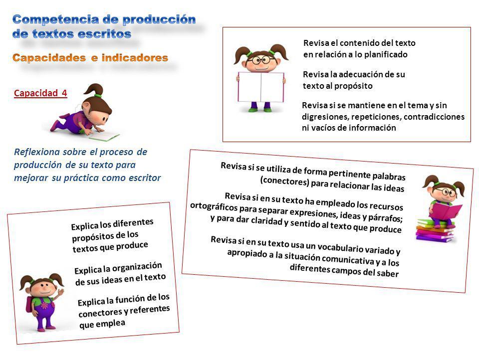 Competencia de producción de textos escritos