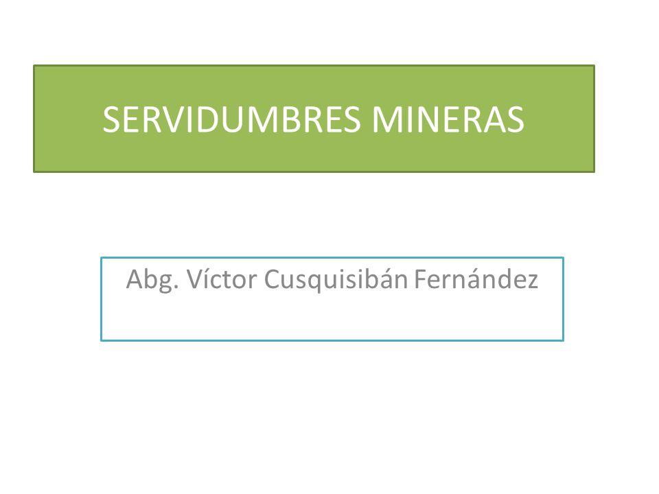 Abg. Víctor Cusquisibán Fernández