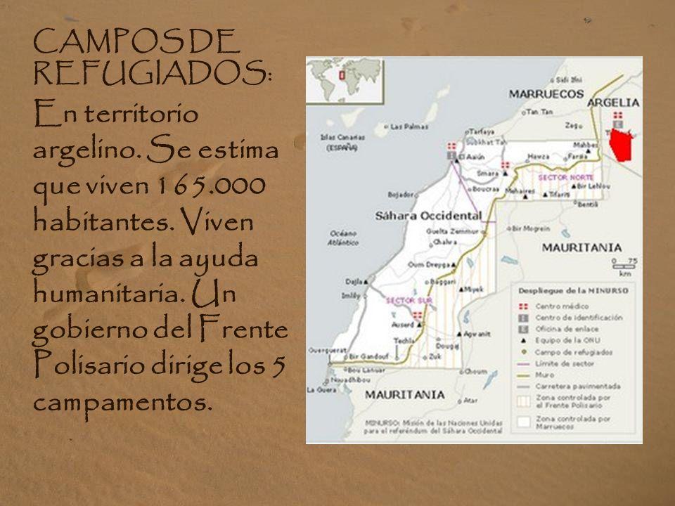 CAMPOS DE REFUGIADOS: