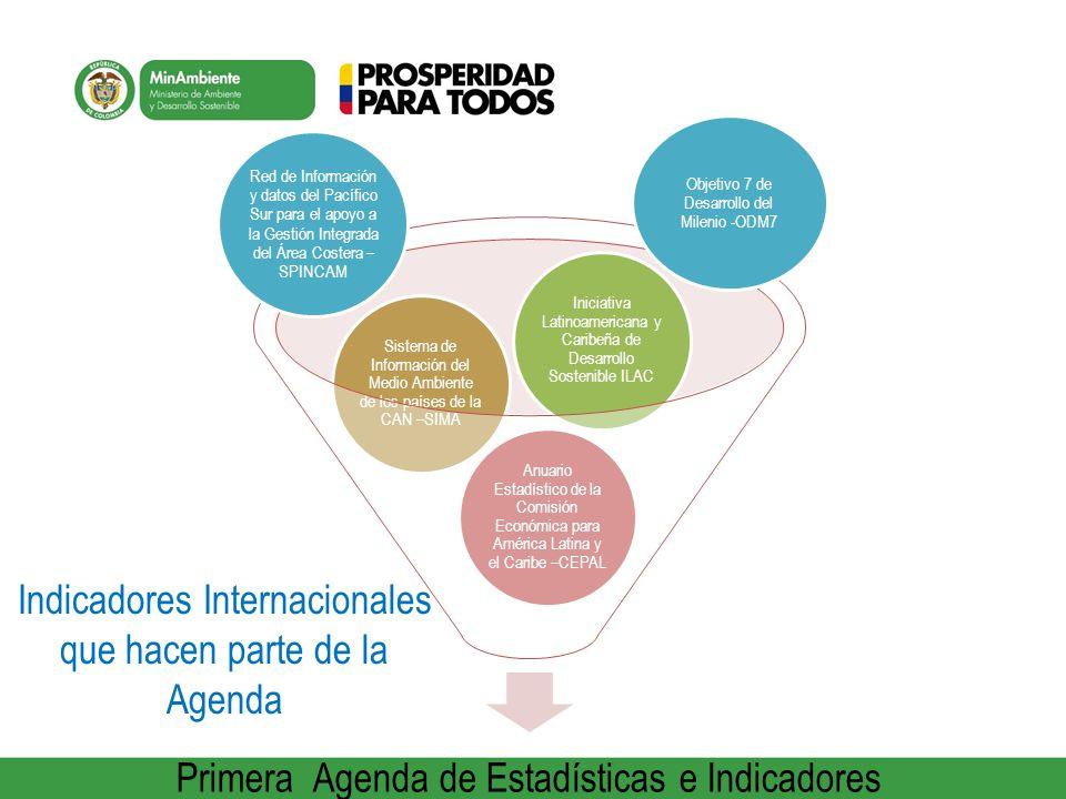 Primera Agenda de Estadísticas e Indicadores