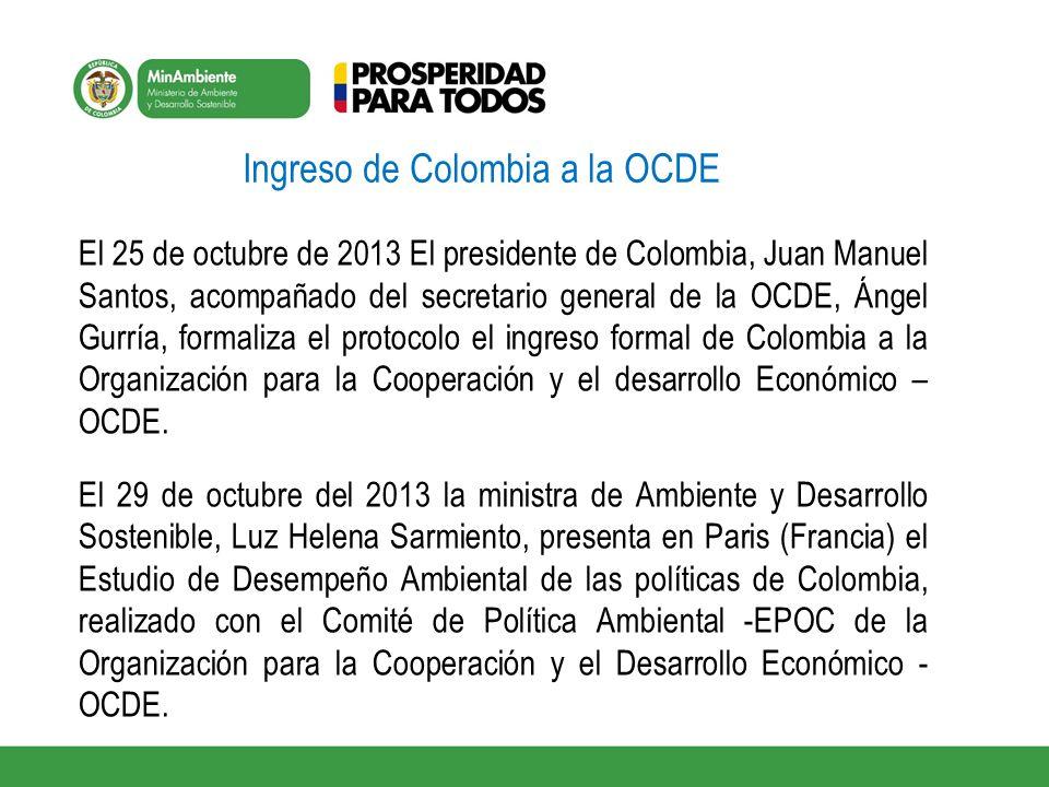 Ingreso de Colombia a la OCDE