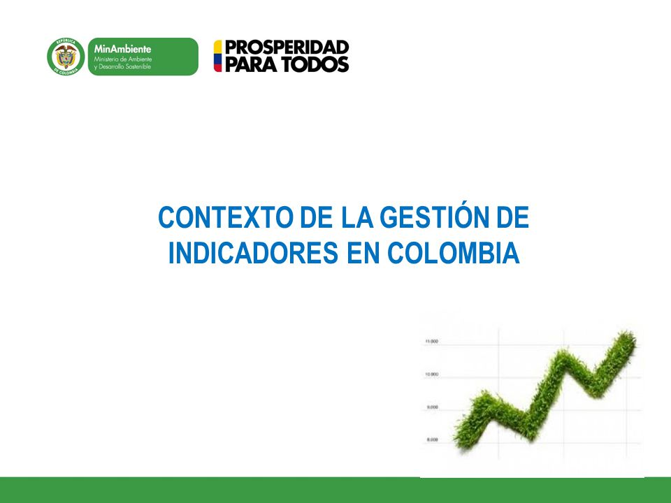 CONTEXTO DE LA GESTIÓN DE INDICADORES EN COLOMBIA