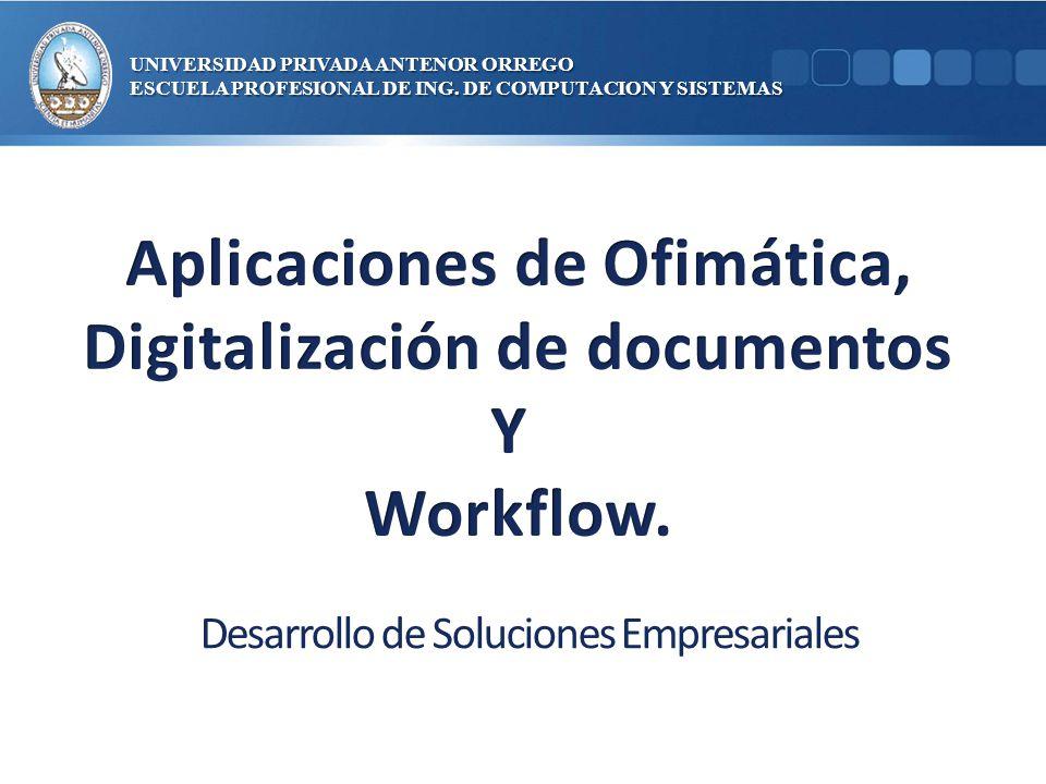Aplicaciones de Ofimática, Digitalización de documentos