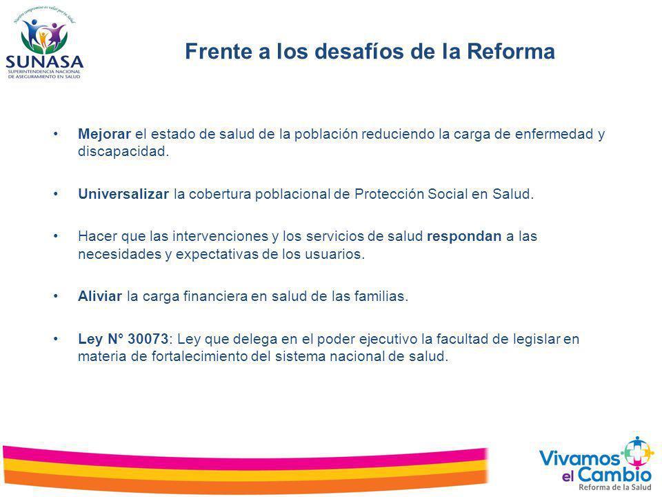 Frente a los desafíos de la Reforma