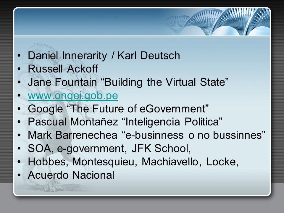 Daniel Innerarity / Karl Deutsch