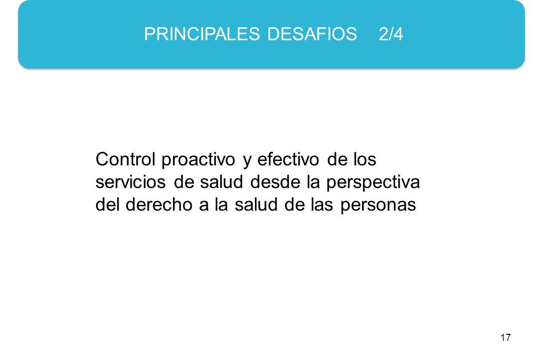 PRINCIPALES DESAFIOS 2/4