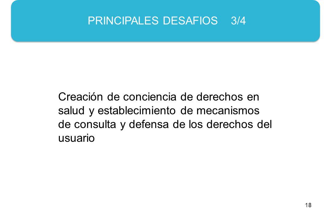 PRINCIPALES DESAFIOS 3/4