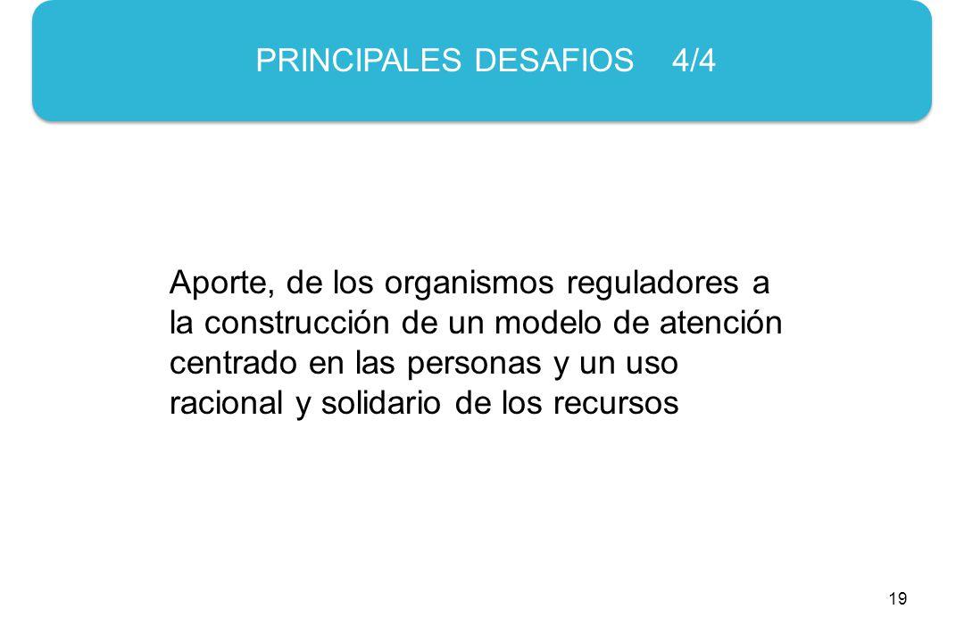 PRINCIPALES DESAFIOS 4/4