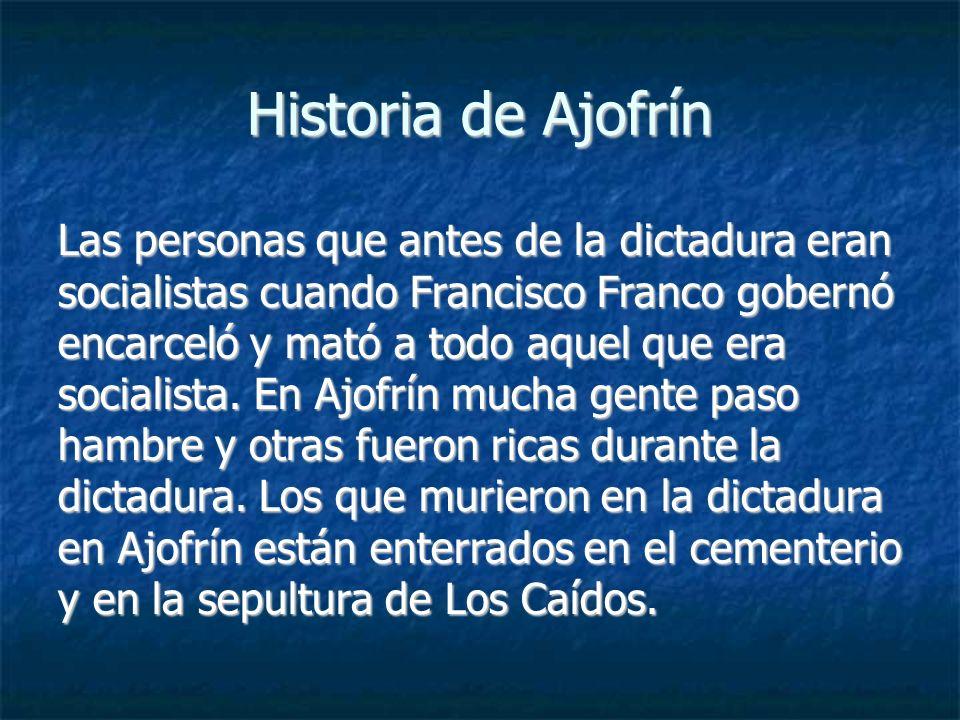 Historia de Ajofrín