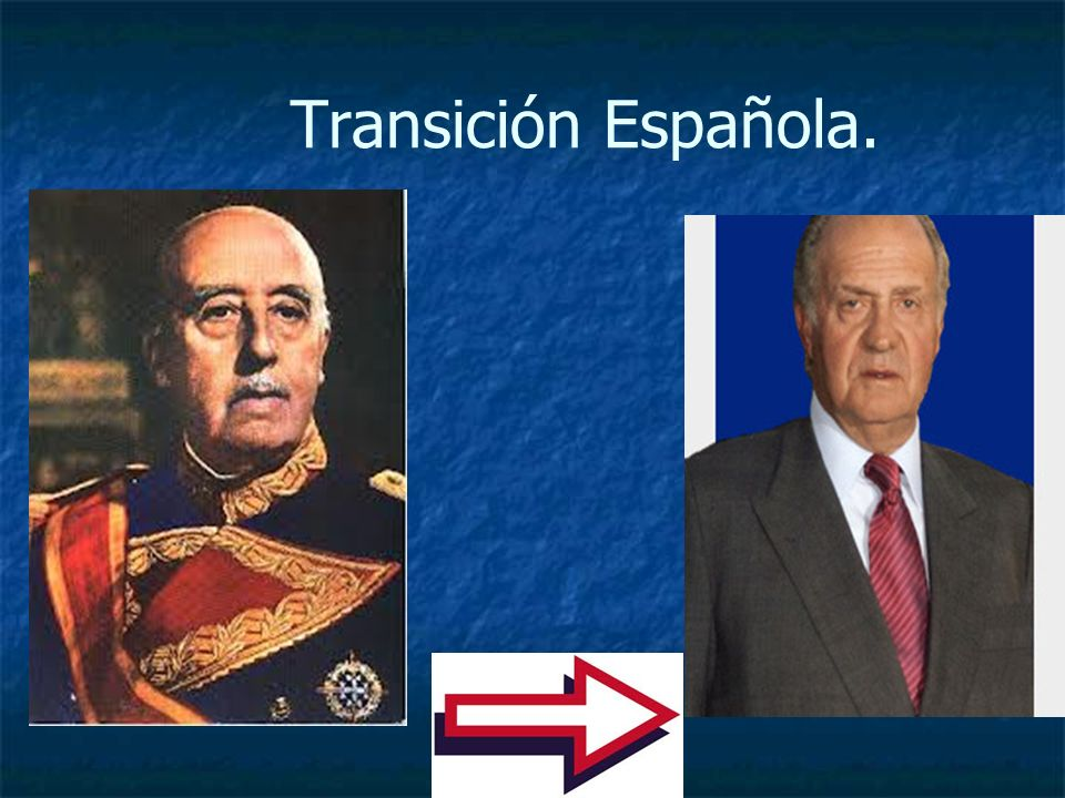 Transición Española.