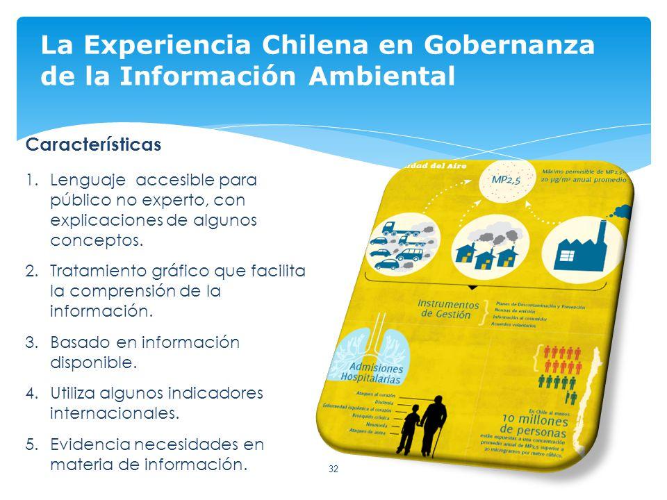 La Experiencia Chilena en Gobernanza de la Información Ambiental