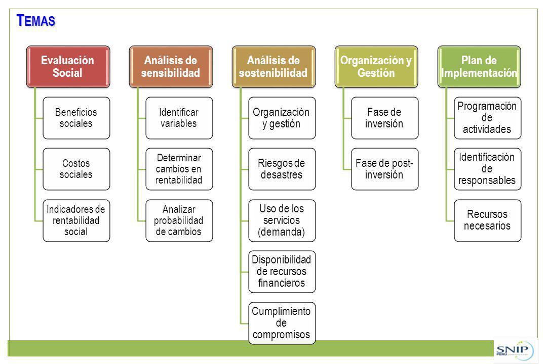 Temas Beneficios sociales Costos sociales
